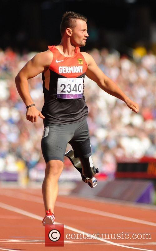 London 2012 Paralympic Games - Men's 100m T42...