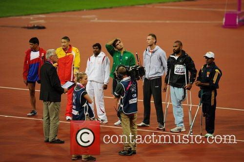 At the London 2012 Paralympic Games - Men's...