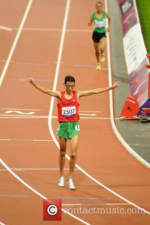 El Amin Chentouf (MAR) wins Gold at the...