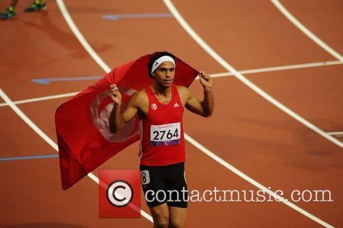 Mohamed Farhal Chida (TUN) wins Gold at the...