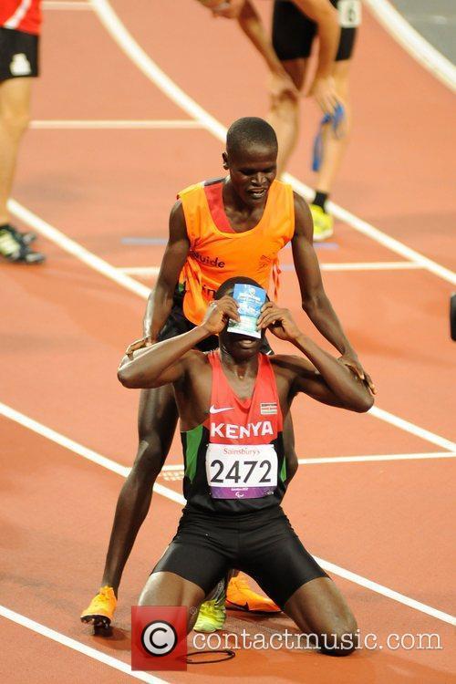 Samwei Mushai Kimani (KEN) Bronze at the London...