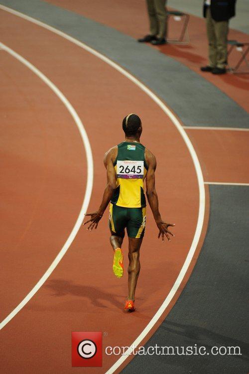 Sekalwe (RSA) wins Bronze at the London 2012...