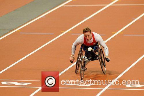 Tina McFadden (USA) wins Gold at the London...