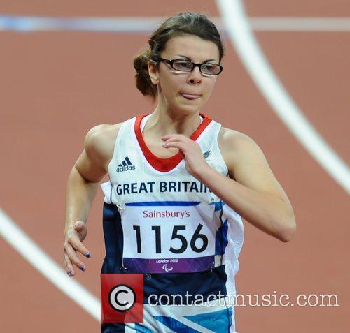 Sophie Kamlisha (GBR) London 2012 Paralympic Games -...
