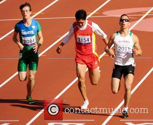 Lucas Ferrari (Brazil), Yongbin Liang (China) and Sofiane...