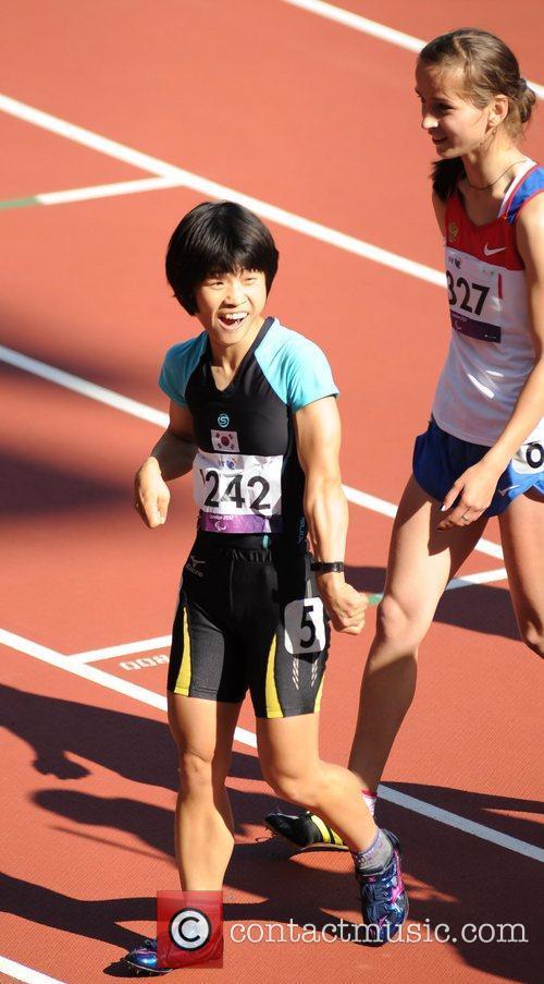 Yuki Kato (Japan) London 2012 Paralympic Games -...