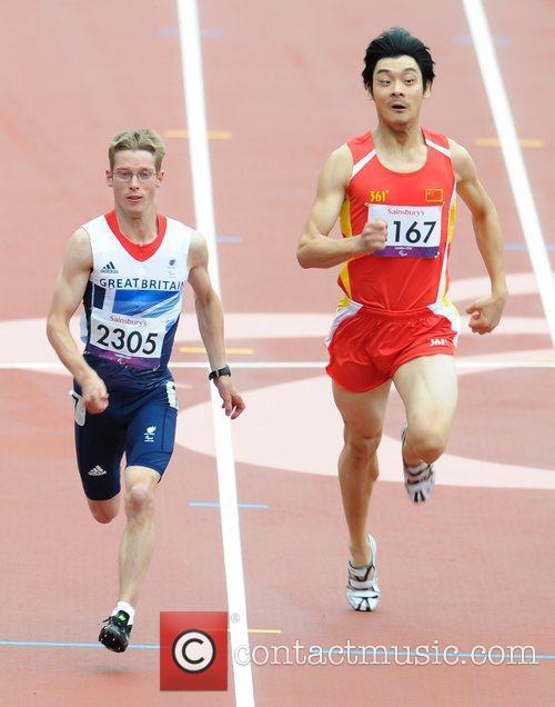 London 2012 Paralympic Games - Men's 100m T36...