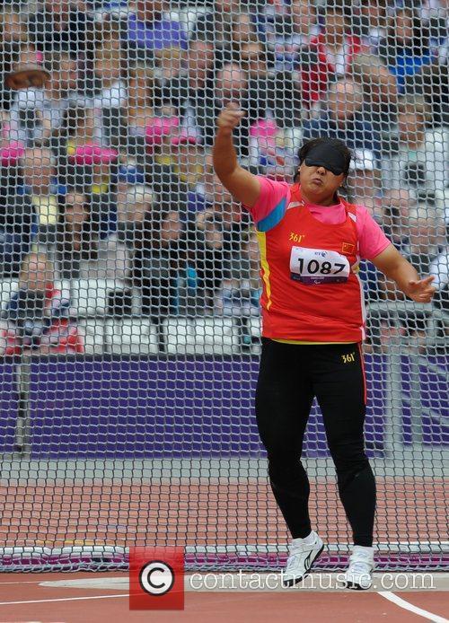Hongxia Tang (CHN) London 2012 Paralympic Games -...