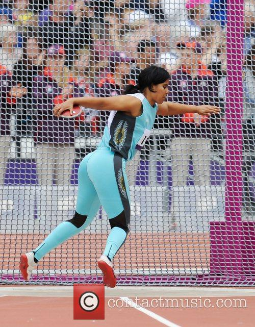 Mariela Almada (ARG) London 2012 Paralympic Games -...