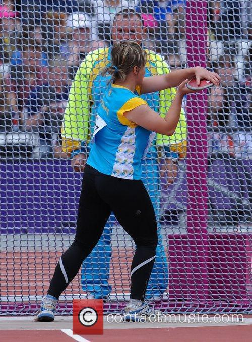 Orysia Ilchyna (UKR) London 2012 Paralympic Games -...