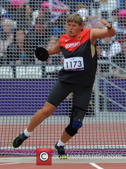 London 2012 Paralympic Games - Women's discus Throw...