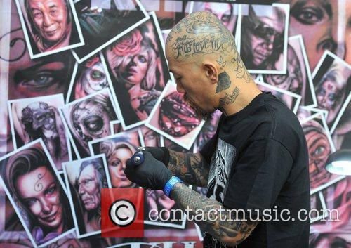 atmosphere london tattoo convention held at the 4103621