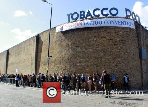 Atmosphere London Tattoo Convention held at the Tobacco...