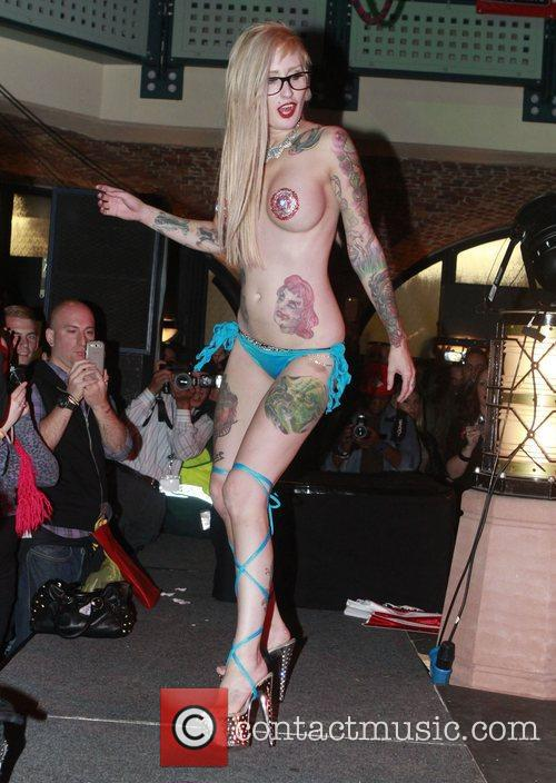 London Tattoo Convention held at the Tobacco Dock...