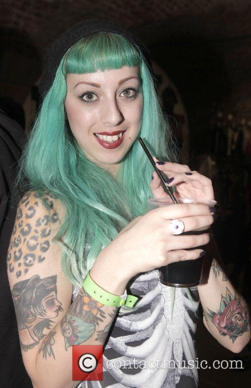 Maxine Ashleigh London Tattoo Convention held at the...