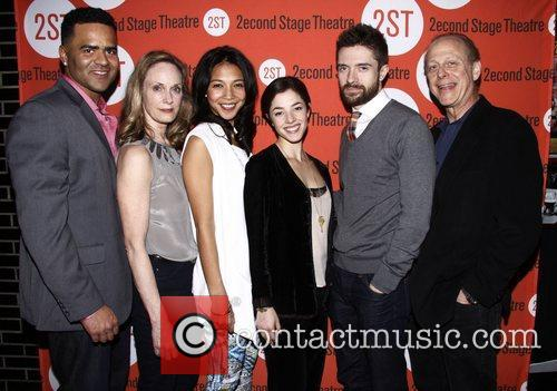 Opening night after party of the Off-Broadway play...