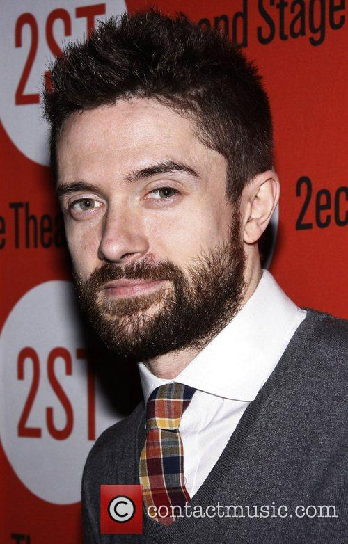 Topher Grace Opening night after party of the...