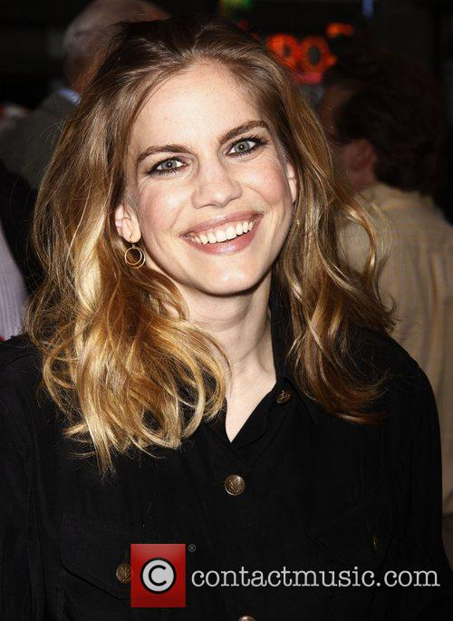 Anna Chlumsky  Opening night of the Off-Broadway...