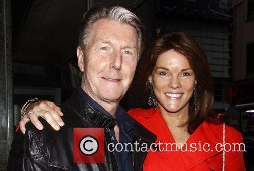 Byron Jennings and Carolyn McCormick Opening night of...