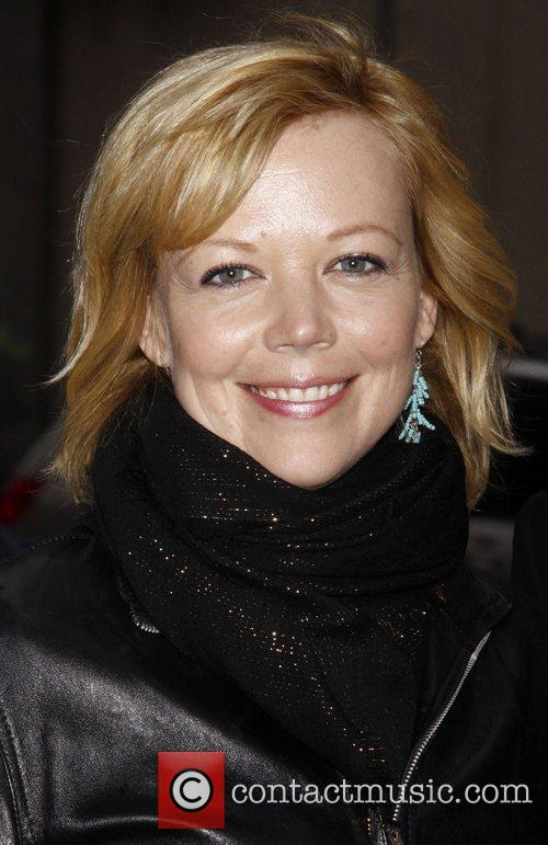 Emily Bergl Opening night of the Off-Broadway play...