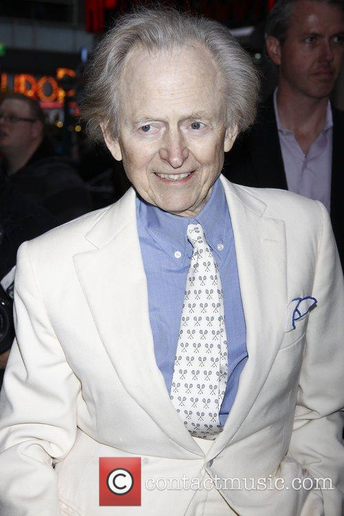 Tom Wolfe Opening night of the Off-Broadway play...
