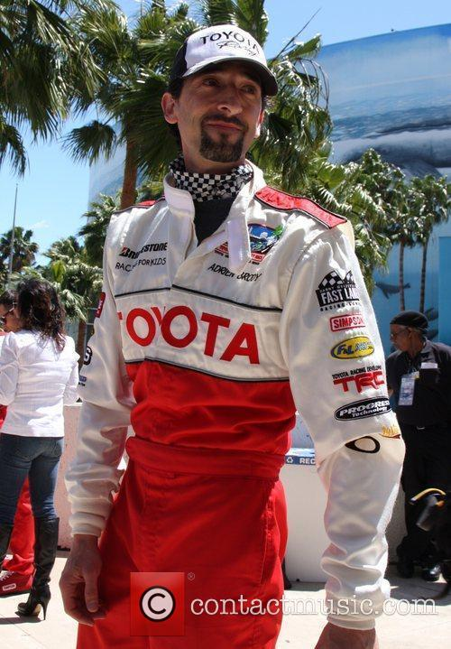 Adrien Brody The 36th Annual Toyota Pro/Celebrity Race...