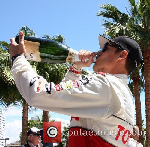 Fredric Aasbo The 36th Annual Toyota Pro/Celebrity Race...