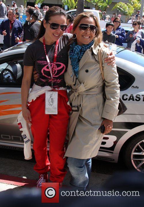 Kate del Castillo and her sister Veronica del...