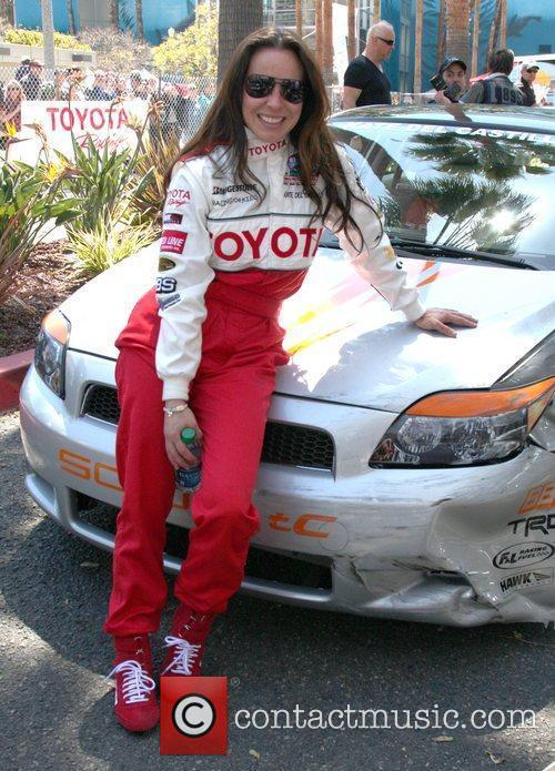 The 36th Annual Toyota Pro/Celebrity Race held at...