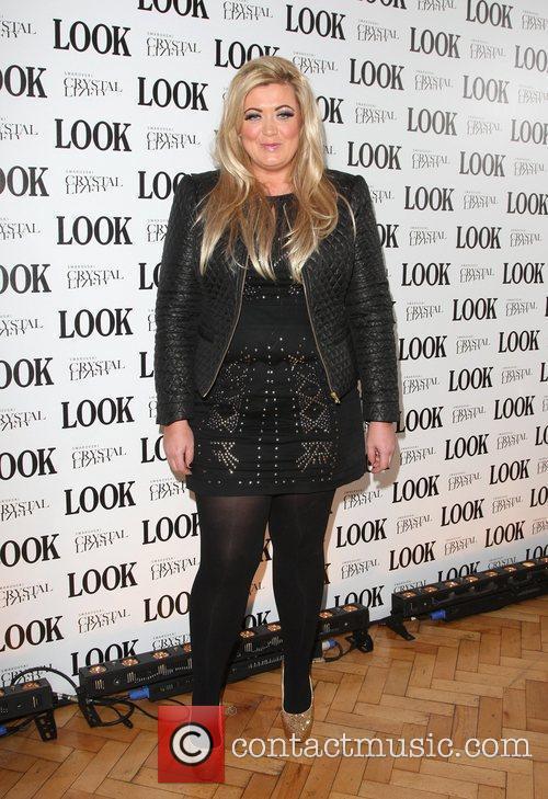Gemma Collins Look magazine in association with Swarovski...