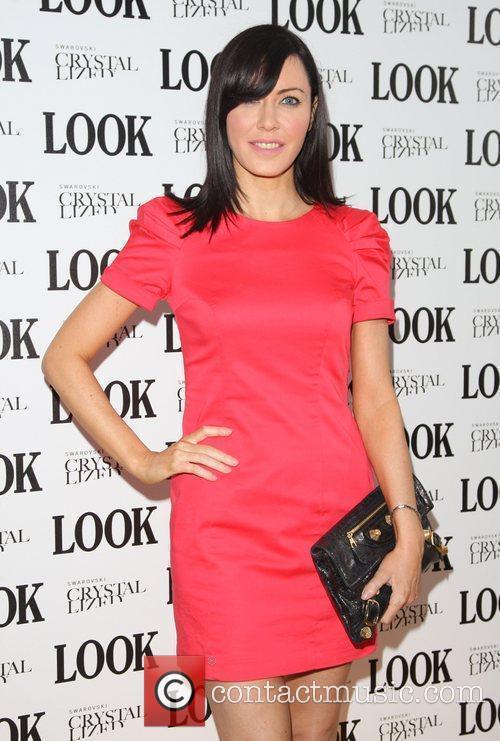 Linzi Stoppard Look magazine in association with Swarovski...