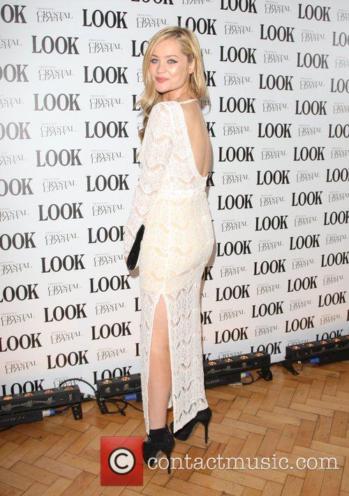 Laura Whitmore Look magazine in association with Swarovski...