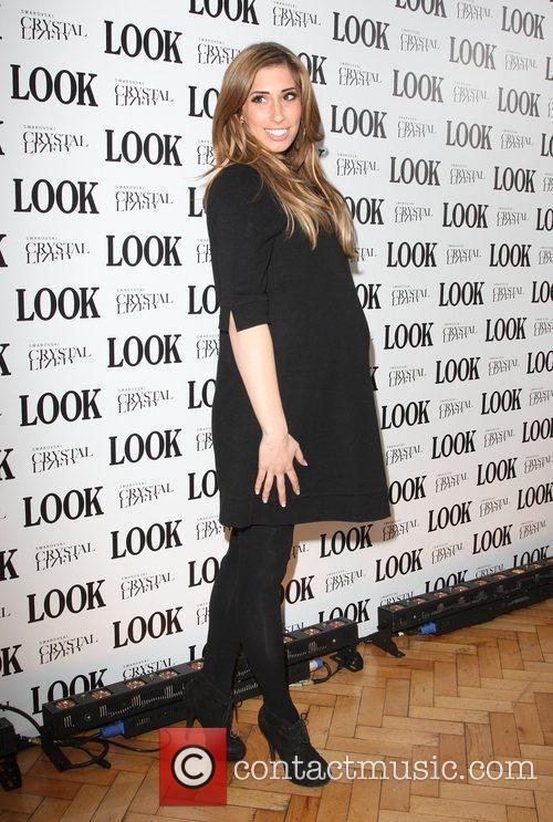 Stacey Solomon Look magazine in association with Swarovski...