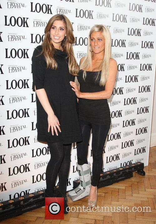 Stacey Solomon with her friend Look magazine in...
