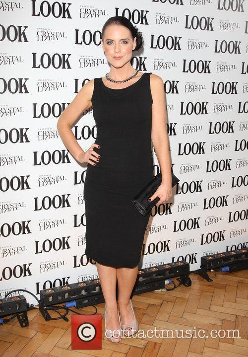 Stephanie Waring Look magazine in association with Swarovski...