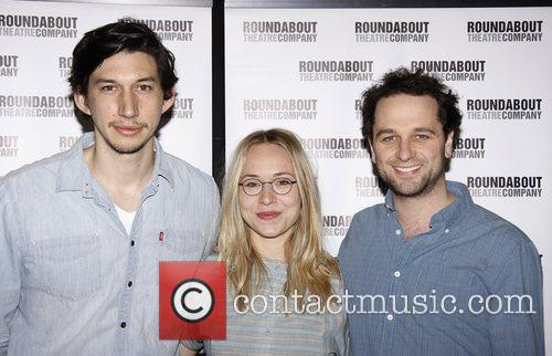Adam Driver, Charlotte Parry, Matthew Rhys Photocall for...