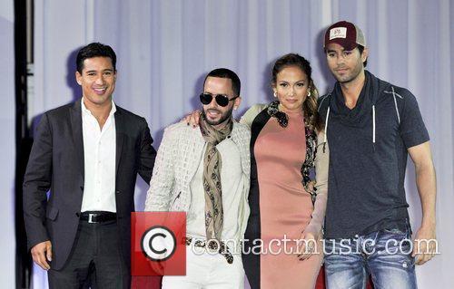 Mario Lopez, Enrique Iglesias and Jennifer Lopez 2