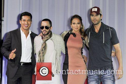 Yandel, Jennifer Lopez and Enrique Iglesisas announce their...