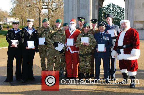 2012 Christmas Box campaign - press launch at...