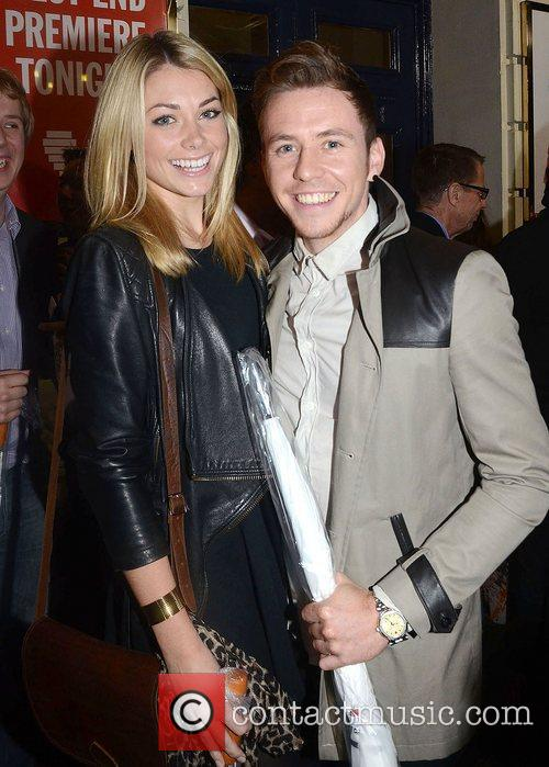 Danny Jones,  at the press night for...