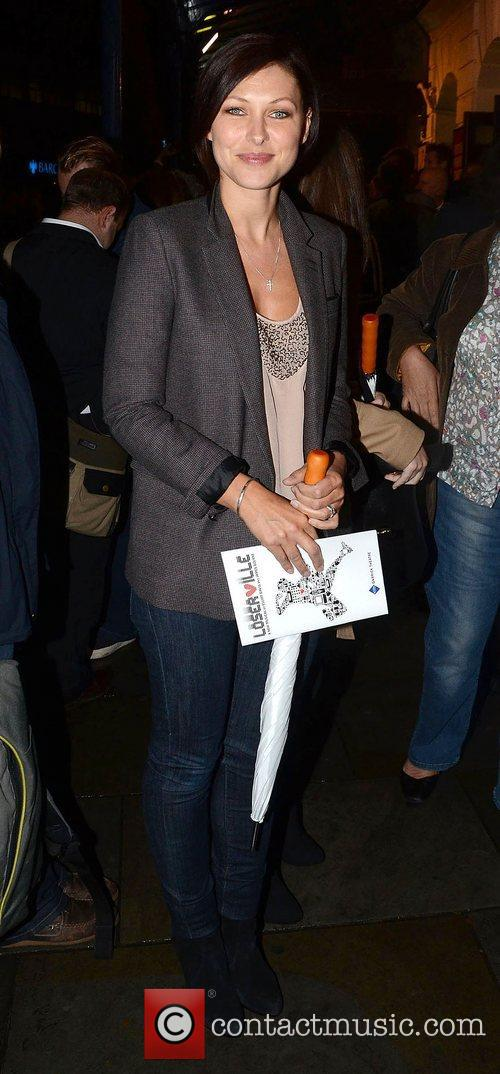 Emma Willis,  at the press night for...