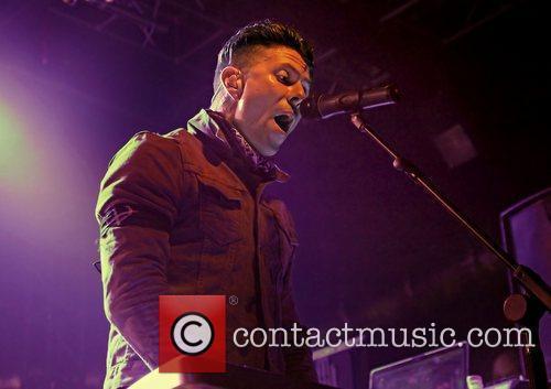 Jamie Oliver of Lostprophets performing at Liverpool O2...