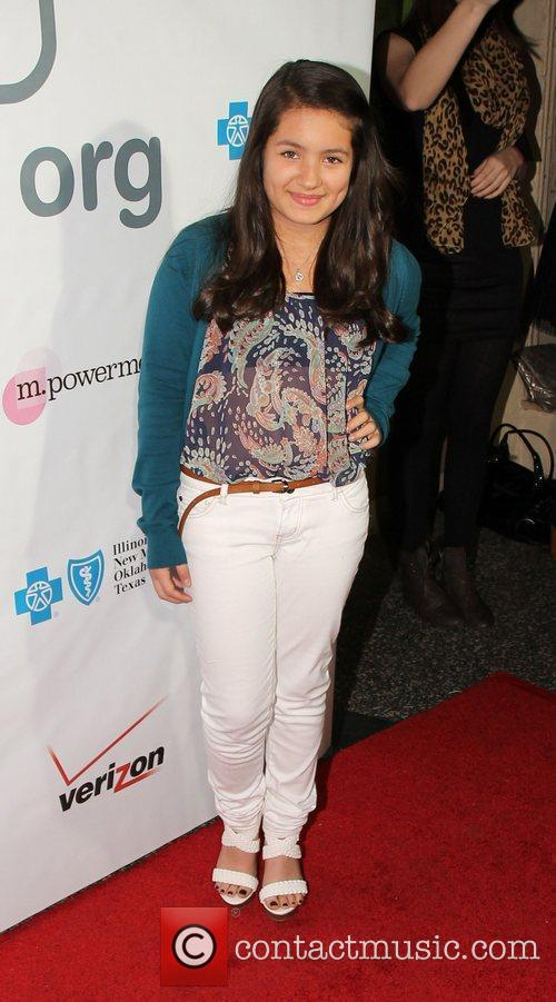 Isabella Rae Thomas Loveisrespect's 'Louder Than Words' Launch...