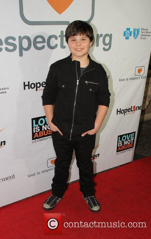 Zach Callison Loveisrespect's 'Louder Than Words' Launch Party...