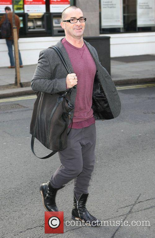 Louie Spence out and about in London