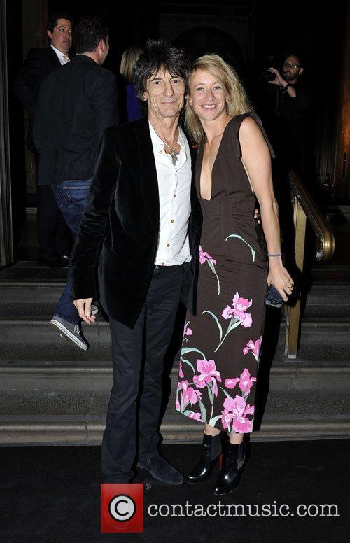 Leah Wood and Ronnie Wood 5