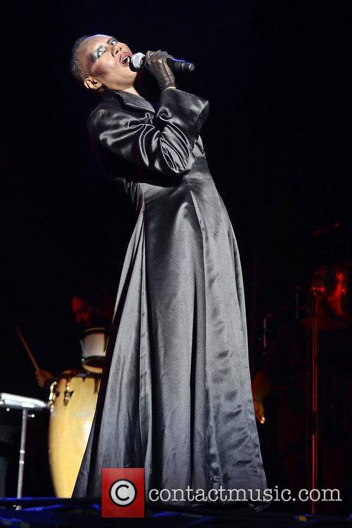 Grace Jones and Lovebox 11