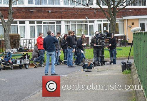 Hit drama 'Love/Hate' shoots at an inner city...