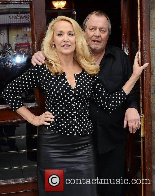 Jerry Hall and David Soul 1
