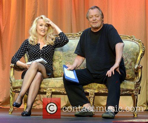 Jerry Hall and David Soul 4